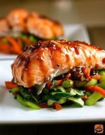 Photo: Get Me Cooking http://www.getmecooking.com/recipe/asian-slow-roasted-salmon