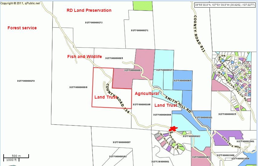 Slate River Drainage Private Property Owners