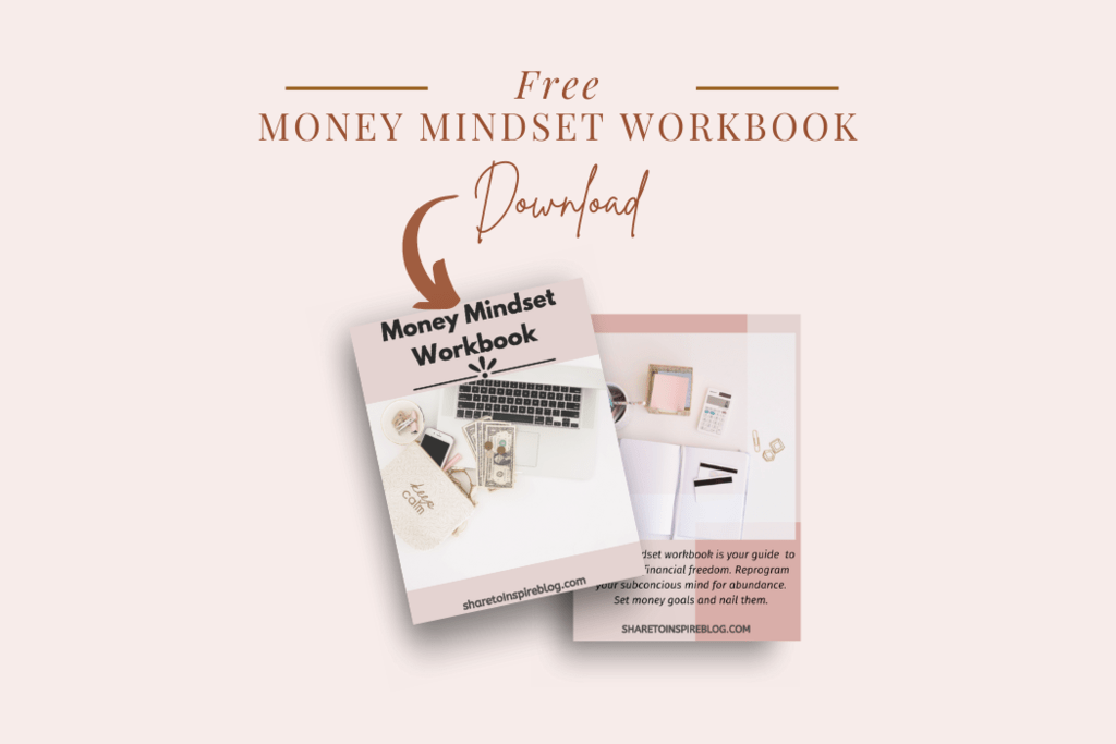 Free money mindset workbook