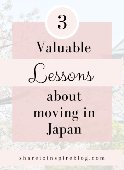 Valuable lesson from living in japan pinterest pin