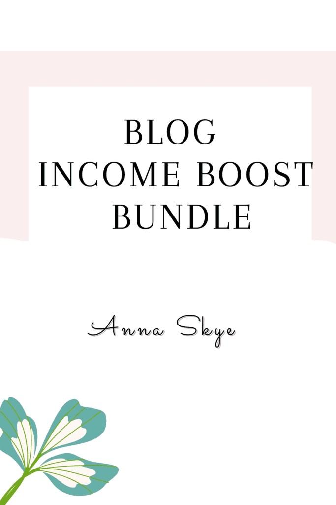 blog income boost bundle