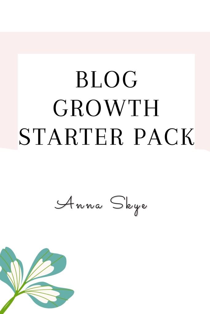 blog growth starter pack