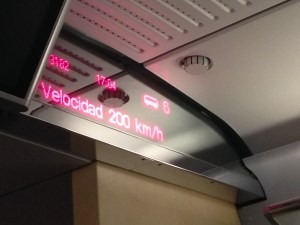 Spain high speed rail