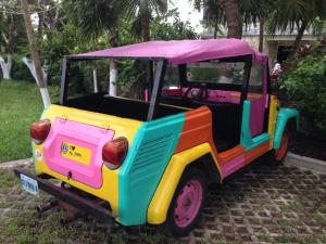Car in Cozumel