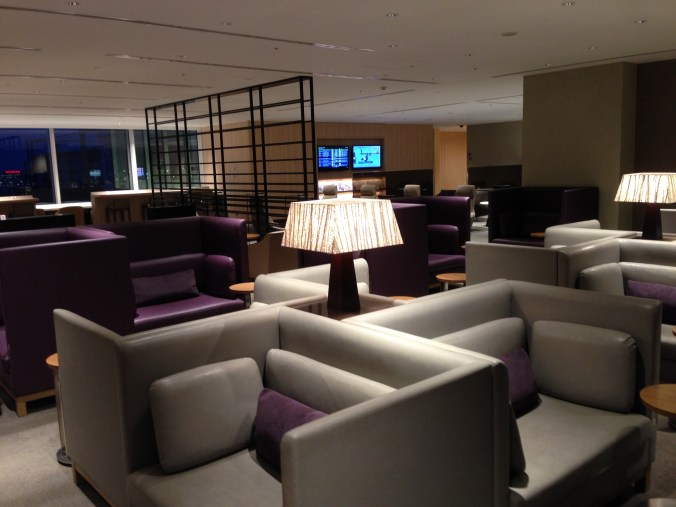 JAL Sakura lounge at Haneda airport