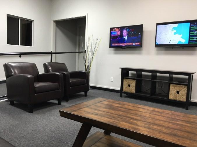 FlightCar waiting area