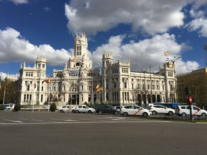 So many beautiful buildings in Madrid