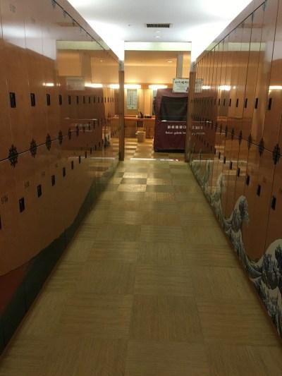 Onsen lockers