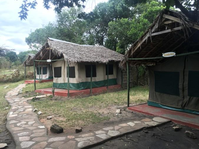 Massai Mara tent cabins