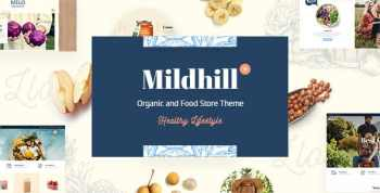 Mildhill - Organic and Food Store Theme