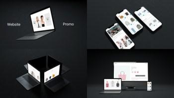Short Website Device Mockup