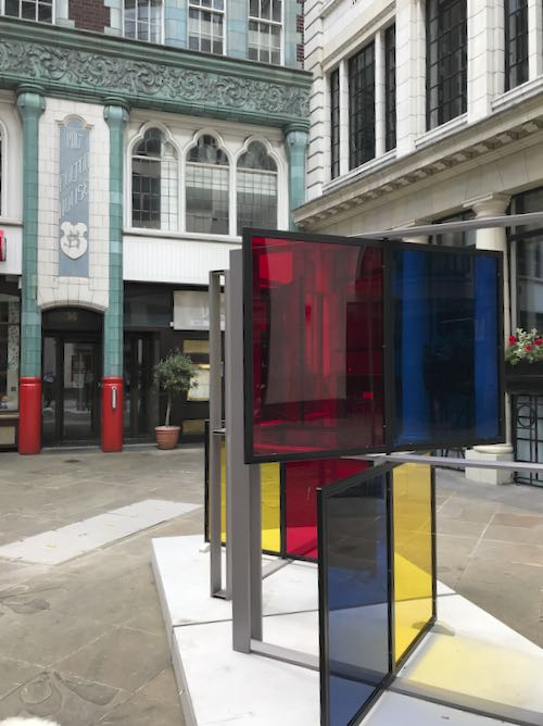 When you explore the city of London do you expect to see Modern Art in a very old setting