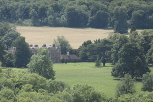 From Coombe Hill you can see the prime ministers country house, Chequers