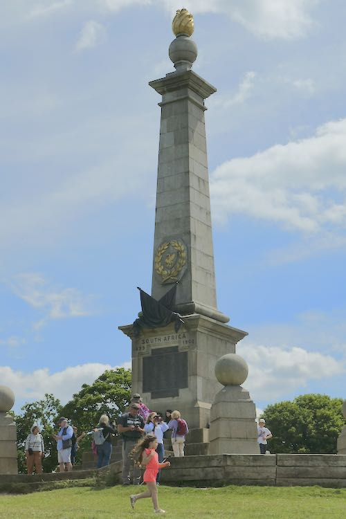 Coombe Hill Boer War monument erected at the beginning of the 20th century