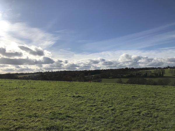 Half way round the Chipperfield circular walk