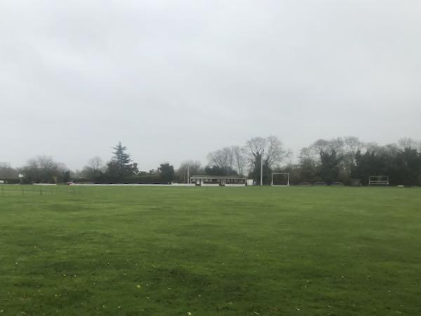 Chenies Cricket club on the Chorleywood country walk