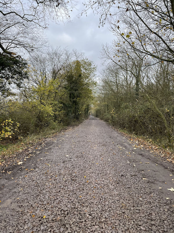 Ermine Street, the oldest part of the Historic Hertford to Haileybury walk