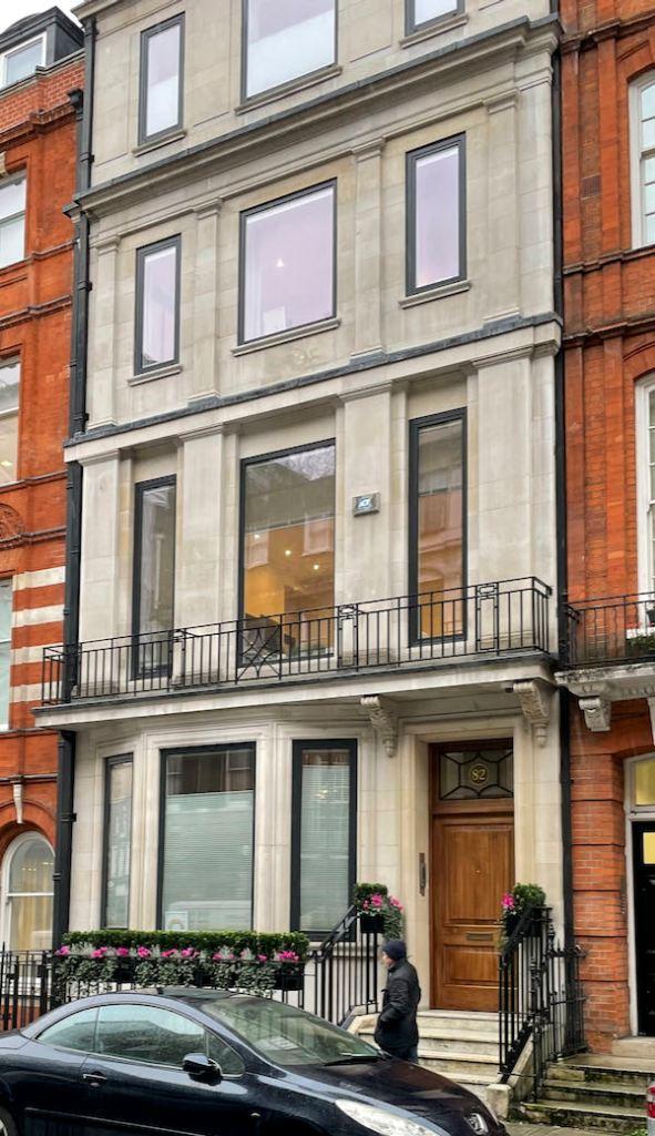 Walking Dickensian London Marylebone in Wimpole St