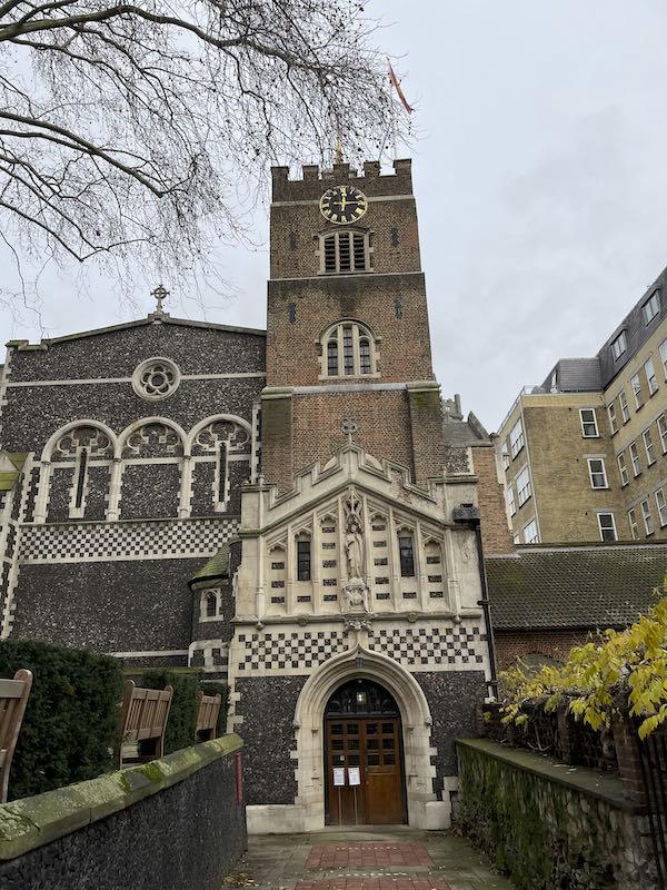 A delightful distraction on a Dickensian walk near St Paul's