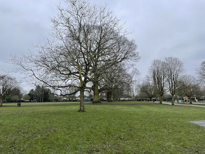 The 3rd park on the Eastcote House & 8 park walk