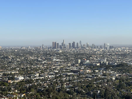 The view from the Ferndell to Griffith Park trail