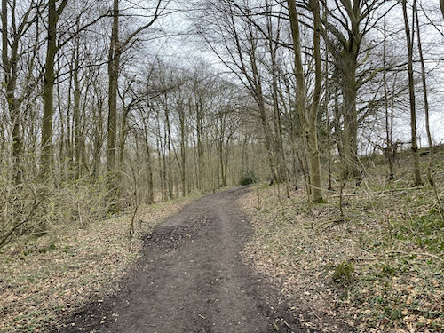 The final part of the Chess Valley Circular walk