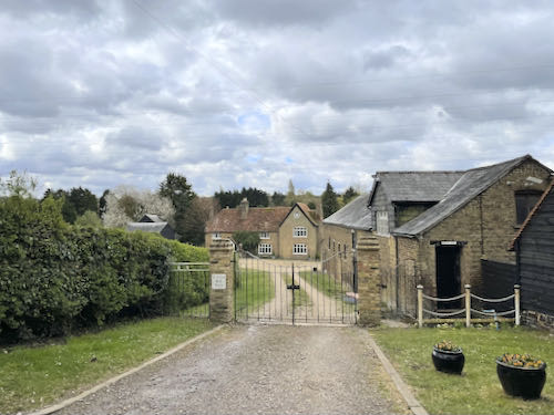 Old farm on the Rickmansworth to Whippendell loop walk