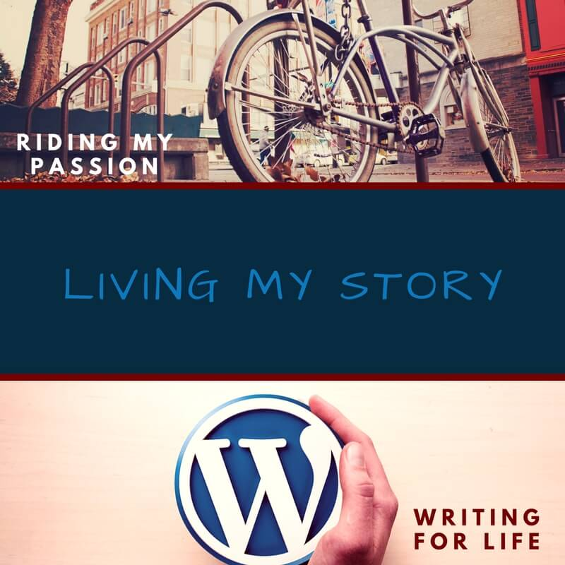 Writing is like riding - living my story