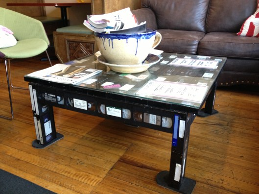 VHS Coffee Table