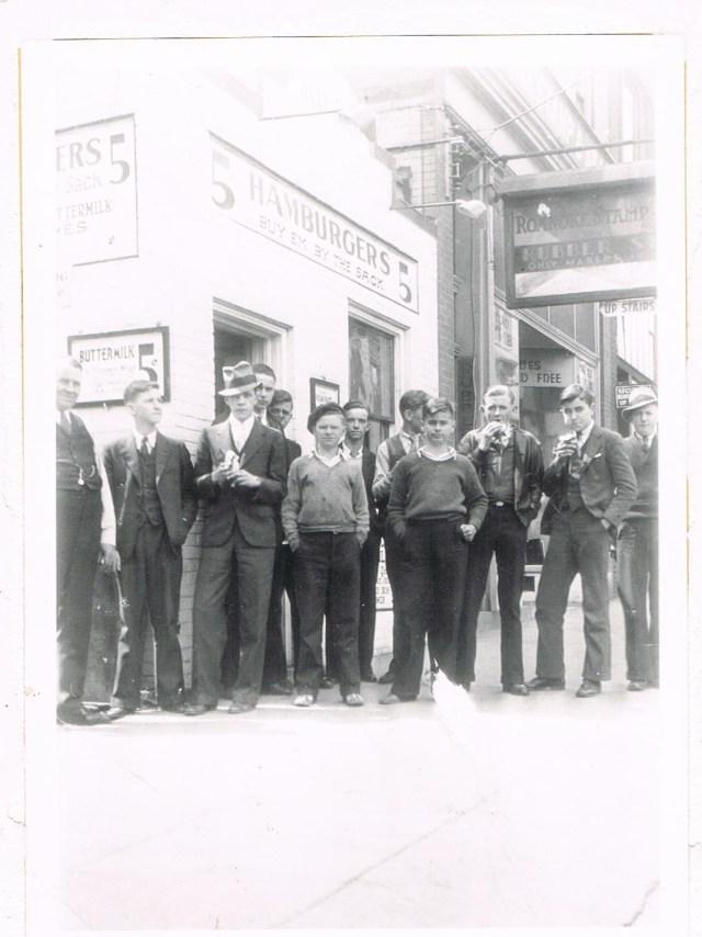 Texas Tavern Grand opening 2-13-1930