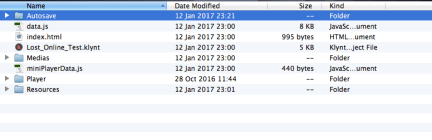Klynt: Folders