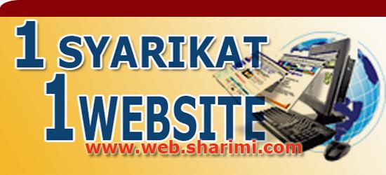 1 syarikat 1 website
