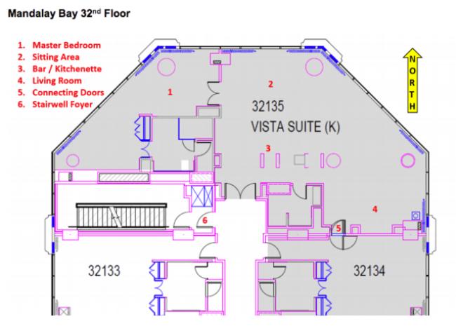 Image result for paddock mandalay bay room diagram