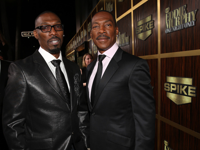 Image result for eddie and charlie murphy getty image