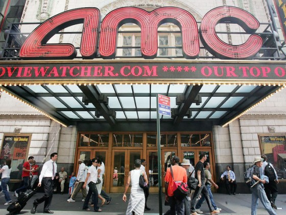 Beer  wine and movies  AMC 6 gets approved to sell both   turnto23     Pedestrians pass an AMC movie theater in Times Square June 21  2005 in New  York City