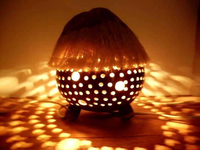 Kerajinan Lampu Hias
