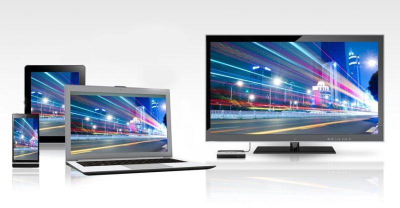 Televisi dan komputer