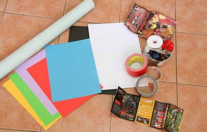 Cara Membuat Lukisan Mozaik dari Kertas