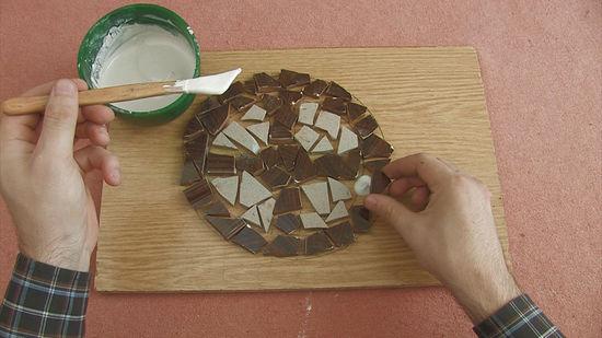 Cara membuat mozaik