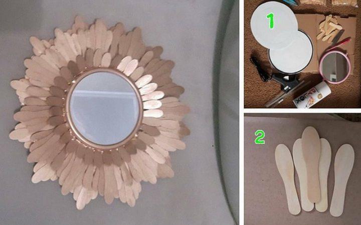 Frame Untuk Cermin dari Limbah Kertas