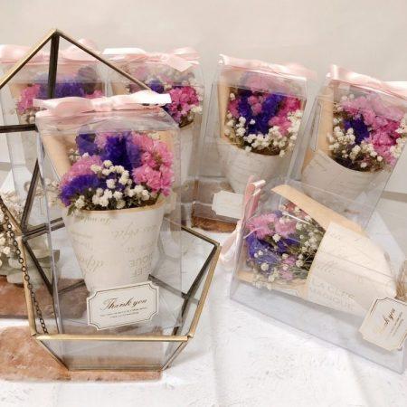 Souvenir Pernikahan Bunga Dalam Botol