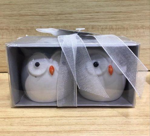 Souvenir Pernikahan Burung Hantu Keramik