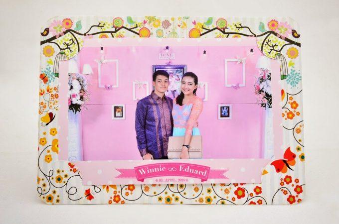 Souvenir Pernikahan Photobooth