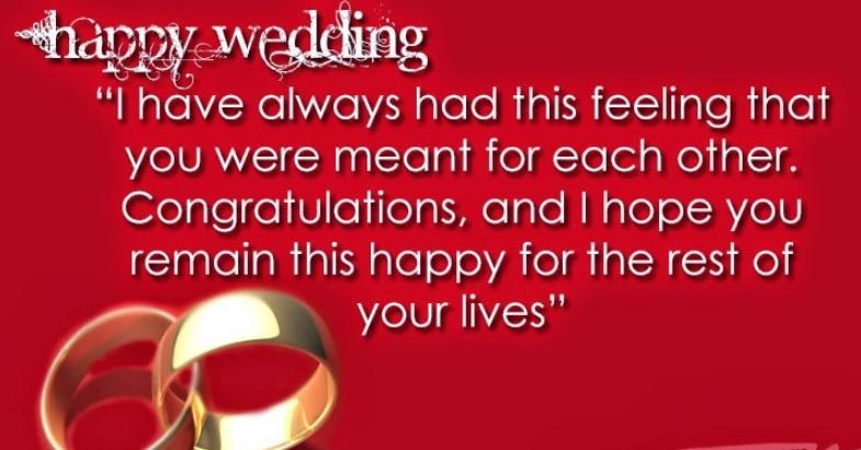 Ucapan Pernikahan Bahasa Inggris
