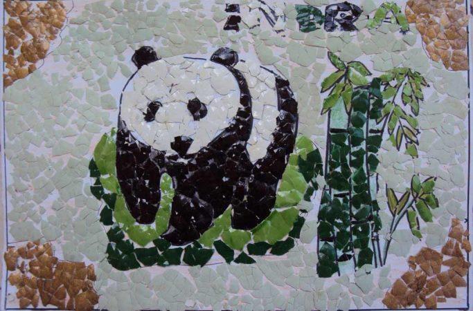 mozaik panda