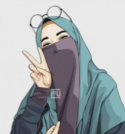 Gambar Kartun Muslimah Hits