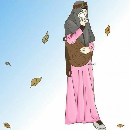 Gambar Kartun Muslimah Keren
