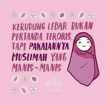 Gambar Kartun Muslimah dan Kata kata 6