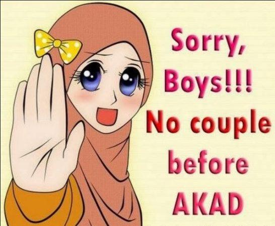 Gambar Kartun Muslimah dan Kata kata 8