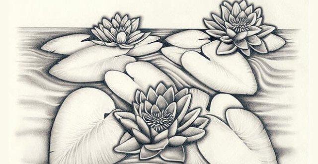 Gambar Pointilis Bunga